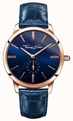 Thomas Sabo Ladies Glam Spirit Blue Leather WA0250-270-209-33