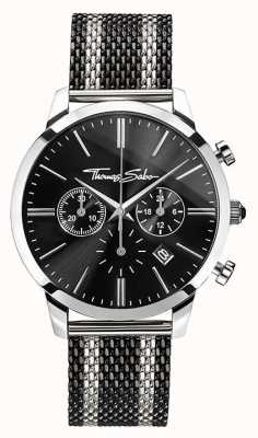 Thomas Sabo Mens Rebel Spirit Chronograph WA0284-280-203-42