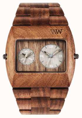 WeWood Mens Jupiter RS Nut Wooden Brown Strap 70331700