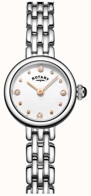 Rotary Womans Elegant Stainless Steel Cocktail Watch LB05052/02