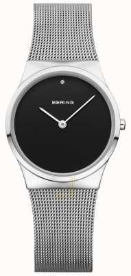 Bering Womans Classic Mesh Black Dial 12130-002
