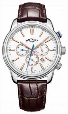 Rotary Mens Monaco Sports Chronograph White GS05083/06