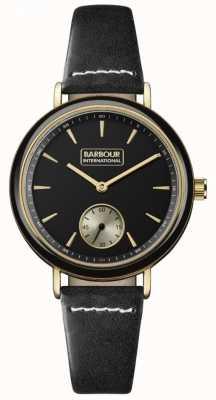 Barbour Women's Dovedale Black Leather BB061BKBK