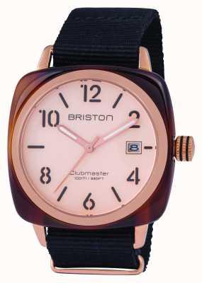 Briston Mens Clubmaster Classic Acetate Rose Gold 14240.PRA.T.6.NB