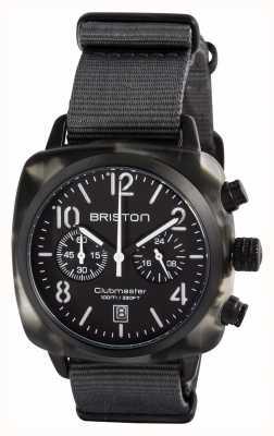 Briston Mens Clubmaster Classic Acetate Alpine Hunter Black 15140.PBAM.GT.3.NG