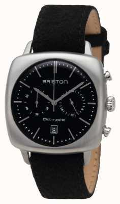 Briston Mens Clubmaster Vintage Steel Black 16140.S.V.1.LFB
