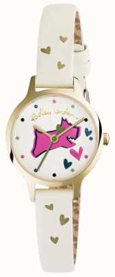 Radley Womans Love Lane Dog Dial Cream RY2494