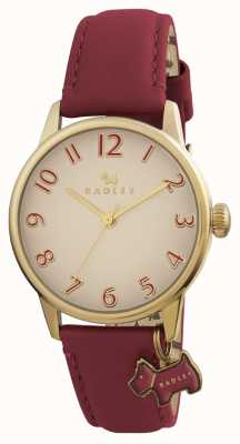 Radley Womans Blair Burgundy Leather Strap RY2250