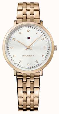 Tommy Hilfiger Womans Pippa Rose Gold Plated 1781760