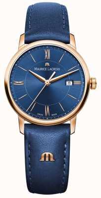 Maurice Lacroix Womans Eliros Blue Leather EL1094-PVP01-411-1