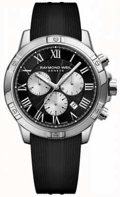Raymond Weil Mens Tango Chronograph Black 8560-SR-00206
