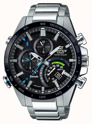 Casio | Mens | Edifice | Bluetooth | Tough | Solar | Racer | EQB-501XDB-1AMER