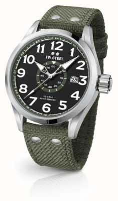 TW Steel Mens Volante Army Green 45mm VS21