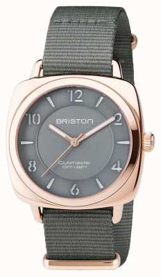 Briston Unisex Clubmaster Chic Grey PVD Rose Gold 17536.SPRG.L.17.NG