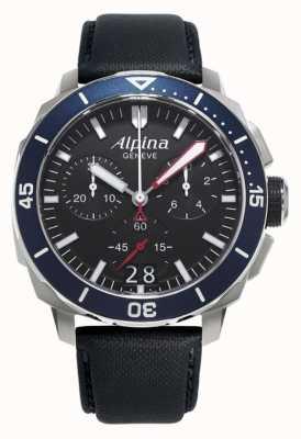 Alpina Mens Seastrong Diver 300 Big Date AL-372LBN4V6