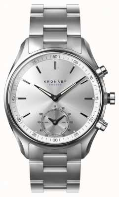 Kronaby 43mm SEKEL Bluetooth Stainless Steel Strap A1000-0715 S0715/1