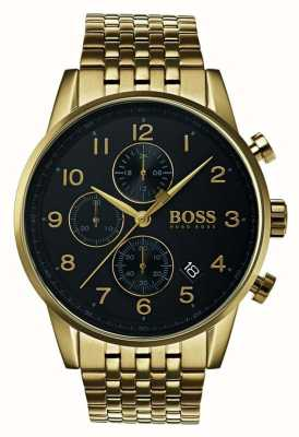 Boss Mens  Navigator Classic Black Dial Watch 1513531