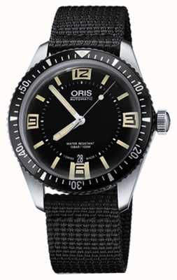 Oris Divers Sixty-five Automatic Fabric Strap Black Dial 01 733 7707 4064-07 5 20 24