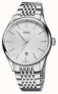 Oris Artelier Date Automatic Stainless Steel Silver Dial 01 733 7721 4051-07 8 21 79
