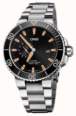 Oris Aquis Date Automatic Stainless Steel Black Dial 01 743 7733 4159-07 8 24 05PEB