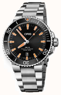 Oris Aquis Date Automatic Stainless Steel Black Dial 01 733 7730 4159-07 8 24 05PEB