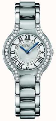 EBEL Womens Beluga Diamond Stainless Steel 1216069