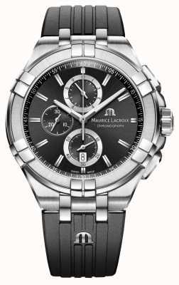 Maurice Lacroix Mens Aikon Chronograph Watch AI1018-SS001-330-2