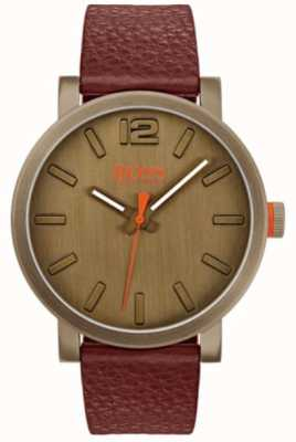 Hugo Boss Orange Mens Bilbao Watch In Brown 1550036