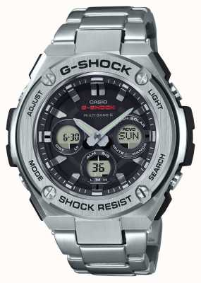 Casio Mens G-Shock G-Steel Midsize Alarm Chrono Stainless Steel GST-W310D-1AER