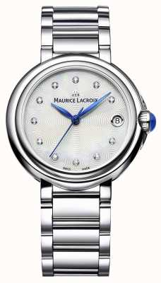 Maurice Lacroix Women's Fiaba 32mm Diamond Set Wristwatch FA1004-SS002-170-1