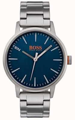 Hugo Boss Orange Mens Copenhagen Watch Blue Dial 1550058
