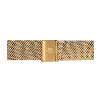 Paul Hewitt gold stainless steel mesh strap size S PH-M1-G-4S
