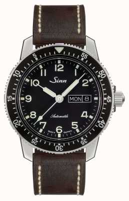 Sinn 104 St Sa A Classic Pilot Watch Dark Brown Vintage Leather 104.011-BL50202002007125401A