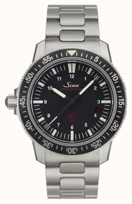 Sinn EZM 3 Men's Diving Einsatzzeitmesser Black Dial 603.010
