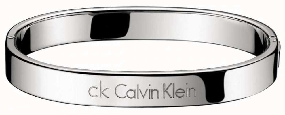 Calvin Klein Stainless Steel Hook Bangle Medium KJ06CB01010M