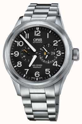 Oris Big Crown Propilot Worldtimer Stainless Steel 01 690 7735 4164-07 8 22 19-1
