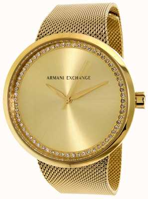 Armani Exchange Womans Liv Stainless Steel AX4502