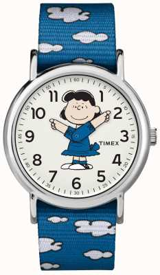Timex Blue Strap Lucy Watch TW2R413006B