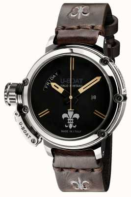 U-Boat Limited Edition Chimera Day DateA SS Automatic Brown leather 8101