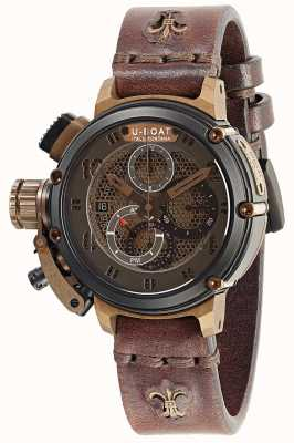 U-Boat Limited Edition Chimera 46 Net B&B Automatic Brown Leather 8098