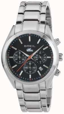 Breil Manta City Stainless Steel Chronograph Black Dial Bracelet TW1606