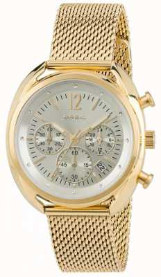 Breil Beaubourg Stainless Steel IPR Chronograph Silver Dial TW1676