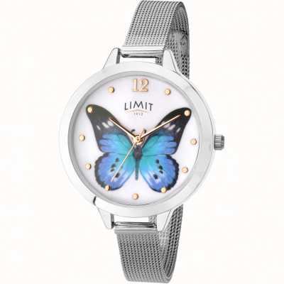 Limit womens secret garden butterfly mesh watch 6269.73