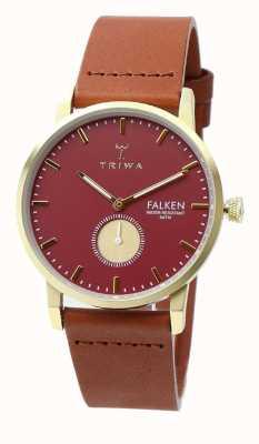 Triwa womens Ruby Falken Brown Classic FAST117-CL010212