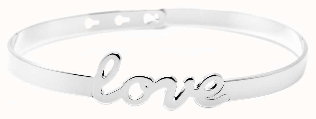 "Mya Bay Stainless Steel ""love"" Bracelet JC-47.S"