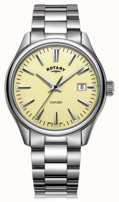 Rotary Mens Oxford Bracelet Stainless Steel GB05092/32