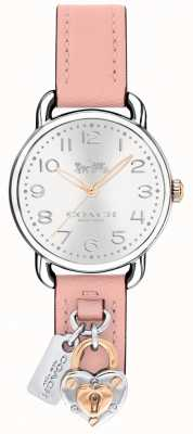 Coach Womens Delancey Pink Leather Strap Charms 14502969
