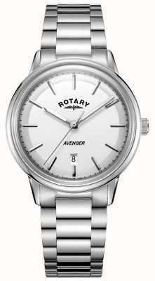 Rotary Mens Avenger Watch Stainless Steel Barcelet GB05340/02