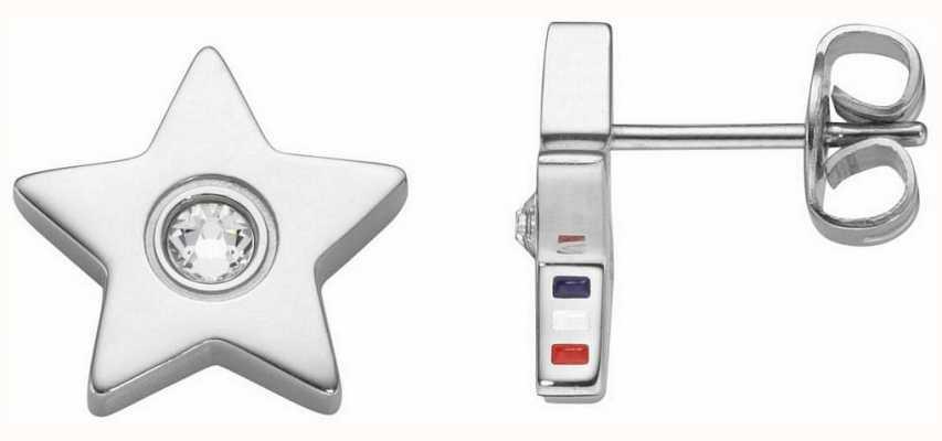 Tommy Hilfiger Womens Star Stone Stud Earrings 2700842