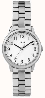 Timex Womens 31mm Expeditional Band Stainless Steel White Dial TW2R58700